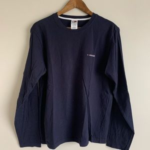 VTG Tommy Hilfiger t-shirt Mens Large Navy Blue